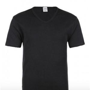 T-Shirt Scollo V Uomo GARDA art. 6315 in cotone felpato