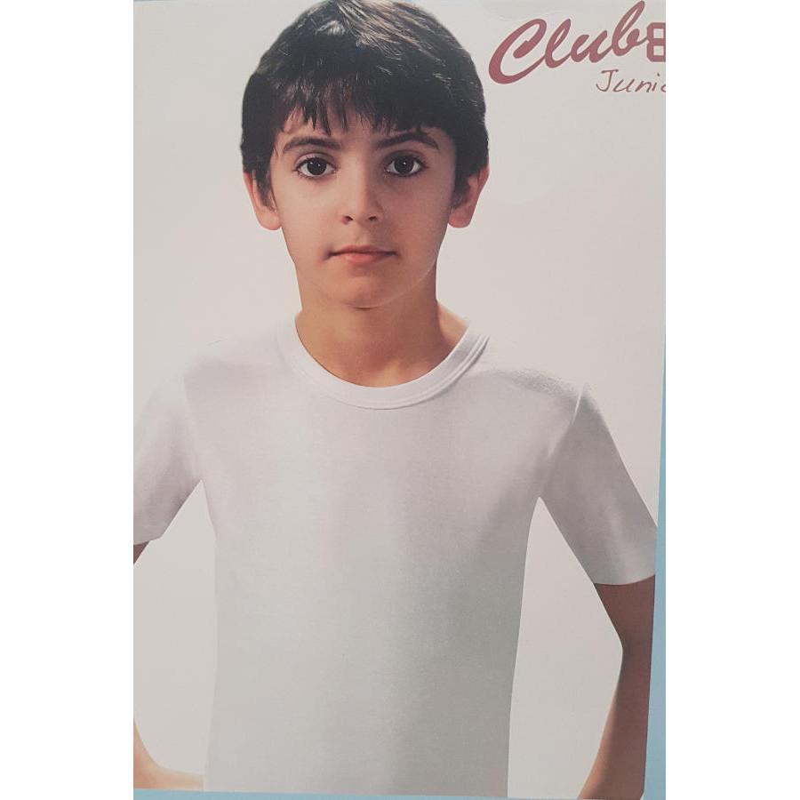 Maglia mezza manica bambino club88 art 520040 for Cruciverba bambini 7 anni