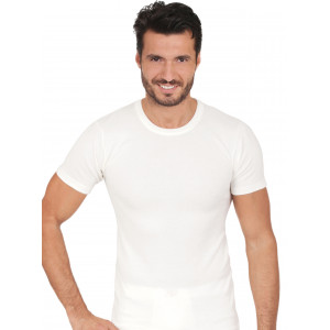 T-shirt  girocollo Uomo cotone / lana MA.RE art. 460