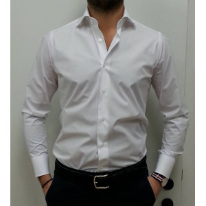 Camicia Uomo Caliban Slim fit
